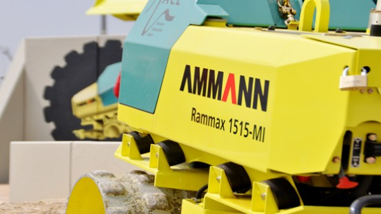 Grabenwalze Rammax 1515