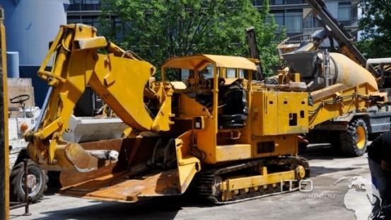Baumaschinen Tunnelbagger Schaeff ITC 112
